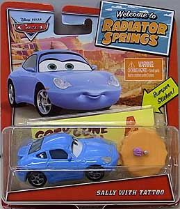 MATTEL CARS 2020 WELCOME TO RADIATOR SPRINGS シングル SALLY WITH TATTOO 台紙傷み特価