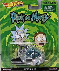 MATTEL HOT WHEELS 1/64スケール 2020 REPLICA ENTERTAINMENT RICK AND MORTY RICK'S SHIP 台紙傷み特価