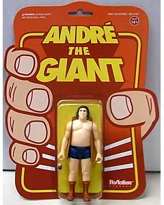 SUPER 7 REACTION FIGURES 3.75インチアクションフィギュア ANDRE THE GIANT [VEST]