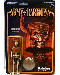 SUPER 7 REACTION FIGURES 3.75インチアクションフィギュア ARMY OF DARKNESS DEADITE SCOUT