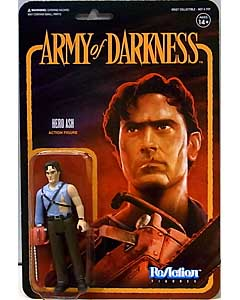 SUPER 7 REACTION FIGURES 3.75インチアクションフィギュア ARMY OF DARKNESS HERO ASH