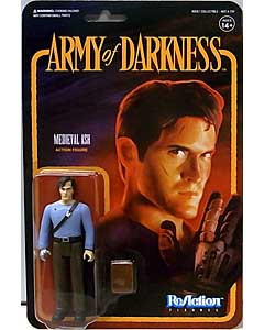 SUPER 7 REACTION FIGURES 3.75インチアクションフィギュア ARMY OF DARKNESS MEDIEVAL ASH