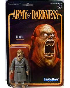 SUPER 7 REACTION FIGURES 3.75インチアクションフィギュア ARMY OF DARKNESS PIT WITCH
