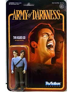 SUPER 7 REACTION FIGURES 3.75インチアクションフィギュア ARMY OF DARKNESS TWO-HEADED ASH