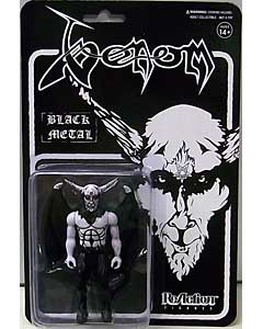 SUPER 7 REACTION FIGURES 3.75インチアクションフィギュア VENOM BLACK METAL