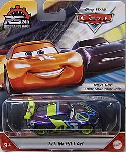 MATTEL CARS 2020 24H ENDURANCE RACE シングル J.D. McPILLAR ブリスター傷み特価