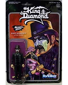 SUPER 7 REACTION FIGURES 3.75インチアクションフィギュア KING DIAMOND [TOP HAT]