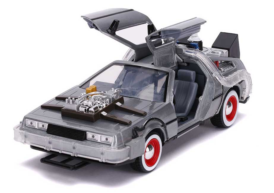 JADA TOYS METALS DIE CAST 1/24スケール BACK TO THE FUTURE PART III TIME MACHINE