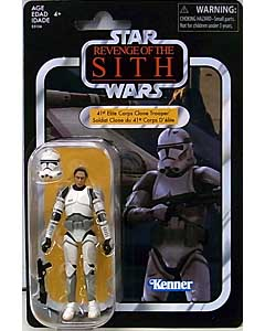 HASBRO STAR WARS 3.75インチアクションフィギュア THE VINTAGE COLLECTION 2020 41ST ELITE CORPS CLONE TROOPER [REVENGE OF THE SITH] VC145