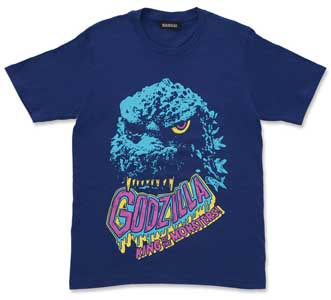 ゴジラ1984 Tシャツ feat.STUDIO696(ブルー)