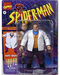 HASBRO MARVEL LEGENDS RETRO 6-INCH COLLECTION SPIDER-MAN MARVEL'S KINGPIN ブリスター傷み特価