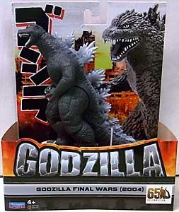 PLAYMATES GODZILLA 6.5インチアクションフィギュア GODZILLA FINAL WARS 2004 パッケージ傷み特価