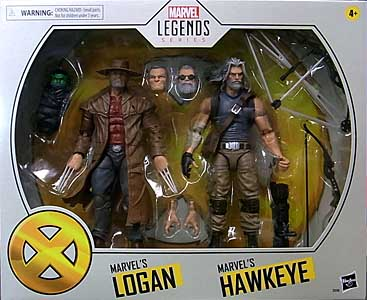 HASBRO MARVEL LEGENDS 2020 2PACK X-MEN MARVEL'S LOGAN & MARVEL'S HAWKEYE
