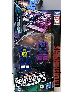HASBRO TRANSFORMERS EARTHRISE MICROMASTER ROLLER FORCE & DECEPTICON GROUND HOG