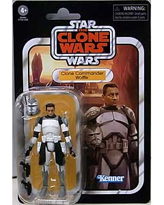 HASBRO STAR WARS 3.75インチアクションフィギュア THE VINTAGE COLLECTION 2020 CLONE COMMANDER WOLFFE [THE CLONE WARS] VC168 台紙傷み特価