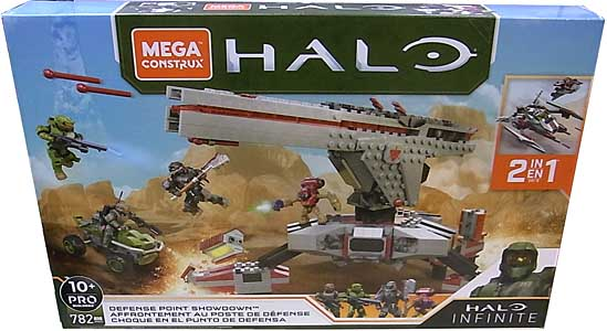 MEGA CONSTRUX HALO INFINIT DEFENSE POINT SHOWDOWN