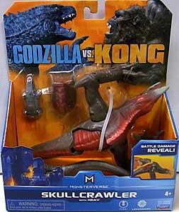 PLAYMATES GODZILLA VS. KONG 6インチベーシックアクションフィギュア SKULLCRAWLER WITH HEAV