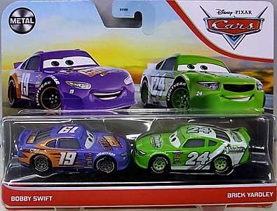 MATTEL CARS 2021 2PACK BOBBY SWIFT & BRICK YARDLEY