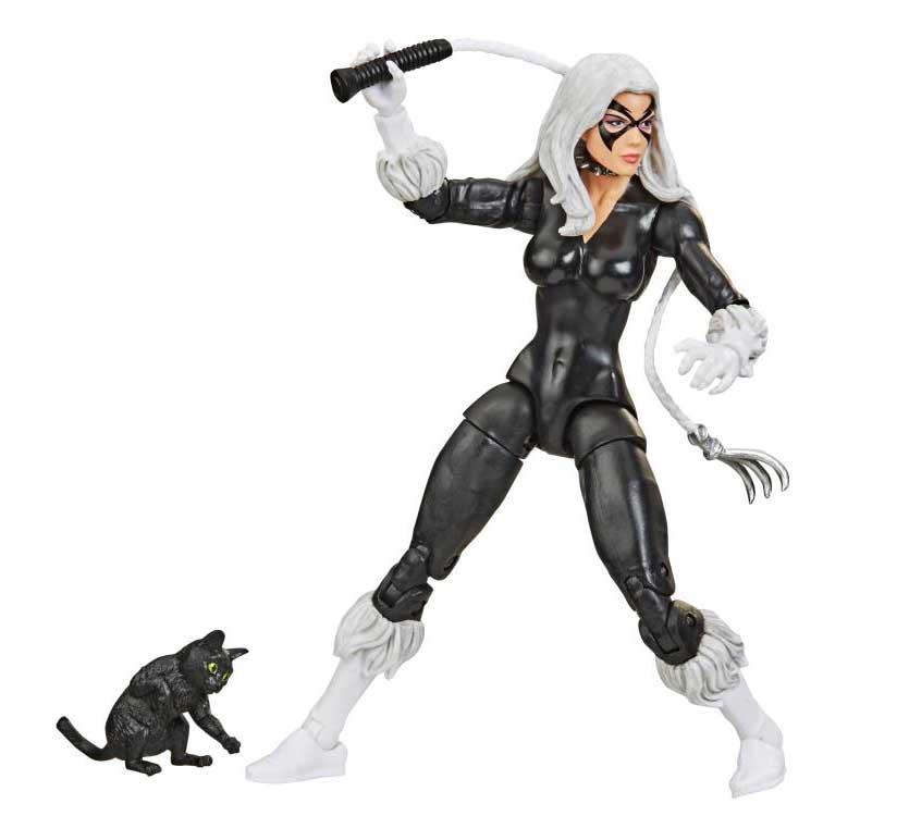 HASBRO MARVEL LEGENDS RETRO 6-INCH COLLECTION SPIDER-MAN MARVEL'S BLACK CAT ワケアリ特価