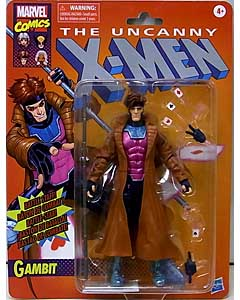 HASBRO MARVEL LEGENDS TARGET限定 RETRO 6-INCH COLLECTION THE UNCANNY X-MEN GAMBIT