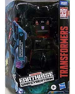 HASBRO TRANSFORMERS EARTHRISE TARGET限定 DELUXE CLASS DECEPTICON RUNABOUT パッケージ傷み特価