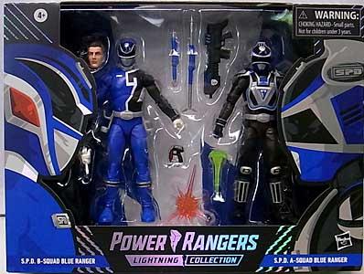 HASBRO POWER RANGERS LIGHTNING COLLECTION TARGET限定 6インチアクションフィギュア 2PACK S.P.D. B-SQUAD BLUE RANGER & S.P.D. A-SQUAD BLUE RANGER [SPECTRUM PACKAGE]