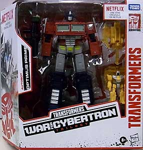 HASBRO NETFLIX TRANSFORMERS: WAR FOR CYBERTRON TRILOGY VOYAGER CLASS AUTOBOT OPTIMUS PRIME