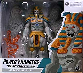 HASBRO POWER RANGERS LIGHTNING COLLECTION 6インチアクションフィギュア MIGHTY MORPHIN KING SPHINX ワケアリ特価
