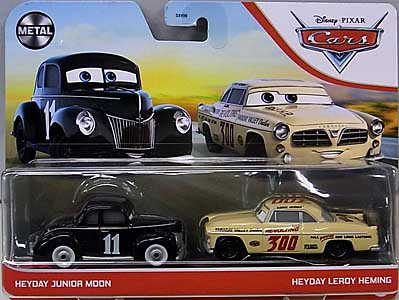 MATTEL CARS 2021 2PACK HEYDAY JUNIOR MOON & HEYDAY LEROY HEMING 台紙傷み特価