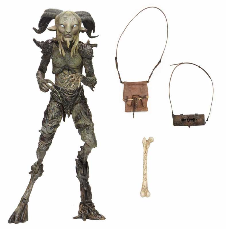 NECA GUILLERMO DEL TORO SIGNATURE COLLECTION 7インチスケールアクションフィギュア PAN'S LABYRINTH OLD FAUN