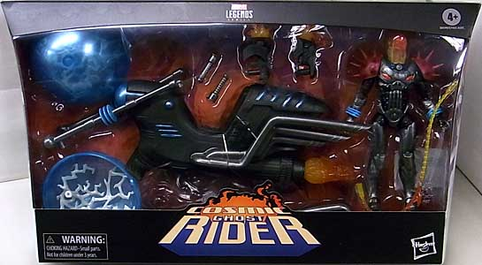 HASBRO MARVEL LEGENDS 2020 COSMIC GHOST RIDER WITH VEHICLE