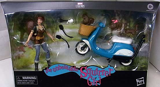HASBRO MARVEL LEGENDS 2020 THE UNBEATABLE SQUIRREL GIRL WITH VEHICLE
