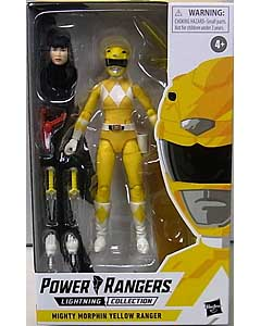 HASBRO POWER RANGERS LIGHTNING COLLECTION 6インチアクションフィギュア MIGHTY MORPHIN YELLOW RANGER