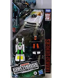 HASBRO TRANSFORMERS EARTHRISE MICROMASTER TRIP-UP & AUTOBOT DADDY-O