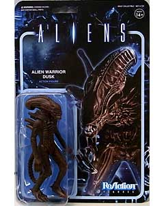 SUPER 7 REACTION FIGURES 3.75インチアクションフィギュア ALIENS ALIEN WARRIOR B [DUSK BROWN]