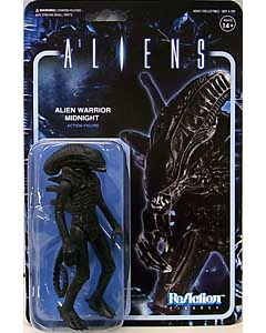 SUPER 7 REACTION FIGURES 3.75インチアクションフィギュア ALIENS ALIEN WARRIOR A [MIDNIGHT BLACK]