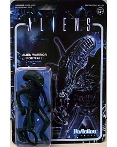 SUPER 7 REACTION FIGURES 3.75インチアクションフィギュア ALIENS ALIEN WARRIOR C [NIGHTFALL BLUE]