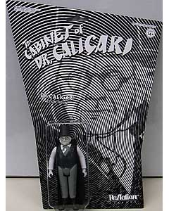 SUPER 7 REACTION FIGURES 3.75インチアクションフィギュア THE CABINET OF DR. CALIGARI DR. CALIGARI 台紙傷み特価