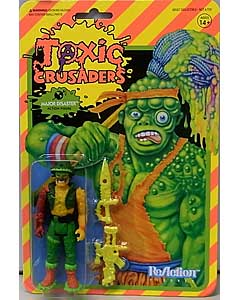 SUPER 7 REACTION FIGURES 3.75インチアクションフィギュア TOXIC CRUSADERS MAJOR DISASTER