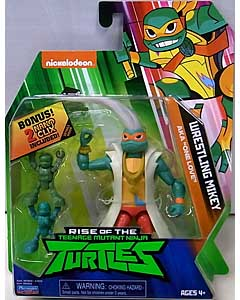 PLAYMATES RISE OF THE TEENAGE MUTANT NINJA TURTLES ベーシックフィギュア WRESTLING MIKEY