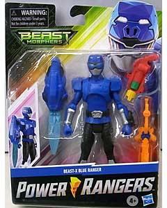 HASBRO POWER RANGERS BEAST MORPHERS 6インチアクションフィギュア BEAST-X BLUE RANGER