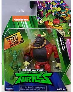 PLAYMATES RISE OF THE TEENAGE MUTANT NINJA TURTLES ベーシックフィギュア BULLHOP 台紙傷み特価