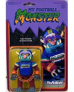 SUPER 7 REACTION FIGURES 3.75インチアクションフィギュア MY PET MONSTER FOOTBALL MONSTER