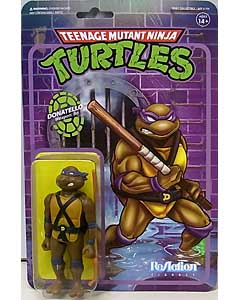 SUPER 7 REACTION FIGURES 3.75インチアクションフィギュア TEENAGE MUTANT NINJA TURTLES DONATELLO
