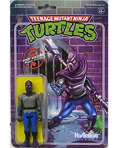 SUPER 7 REACTION FIGURES 3.75インチアクションフィギュア TEENAGE MUTANT NINJA TURTLES FOOT SOLDIER