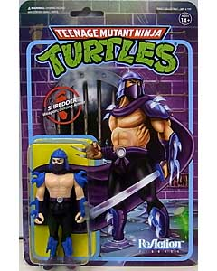 SUPER 7 REACTION FIGURES 3.75インチアクションフィギュア TEENAGE MUTANT NINJA TURTLES SHREDDER