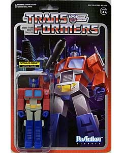 SUPER 7 REACTION FIGURES 3.75インチアクションフィギュア TRANSFORMERS OPTIMUS PRIME