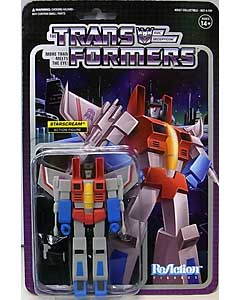 SUPER 7 REACTION FIGURES 3.75インチアクションフィギュア TRANSFORMERS STARSCREAM