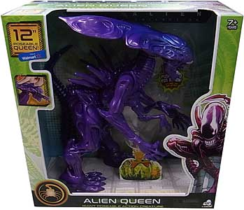LANARD TOYS ALIEN COLLECTION GIANT POSEABLE ACTION CREATURE ALIEN QUEEN [PURPLE]