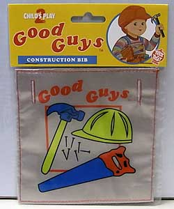 TRICK OR TREAT STUDIOS CHILD'S PLAY 2 GOOD GUYS BIB